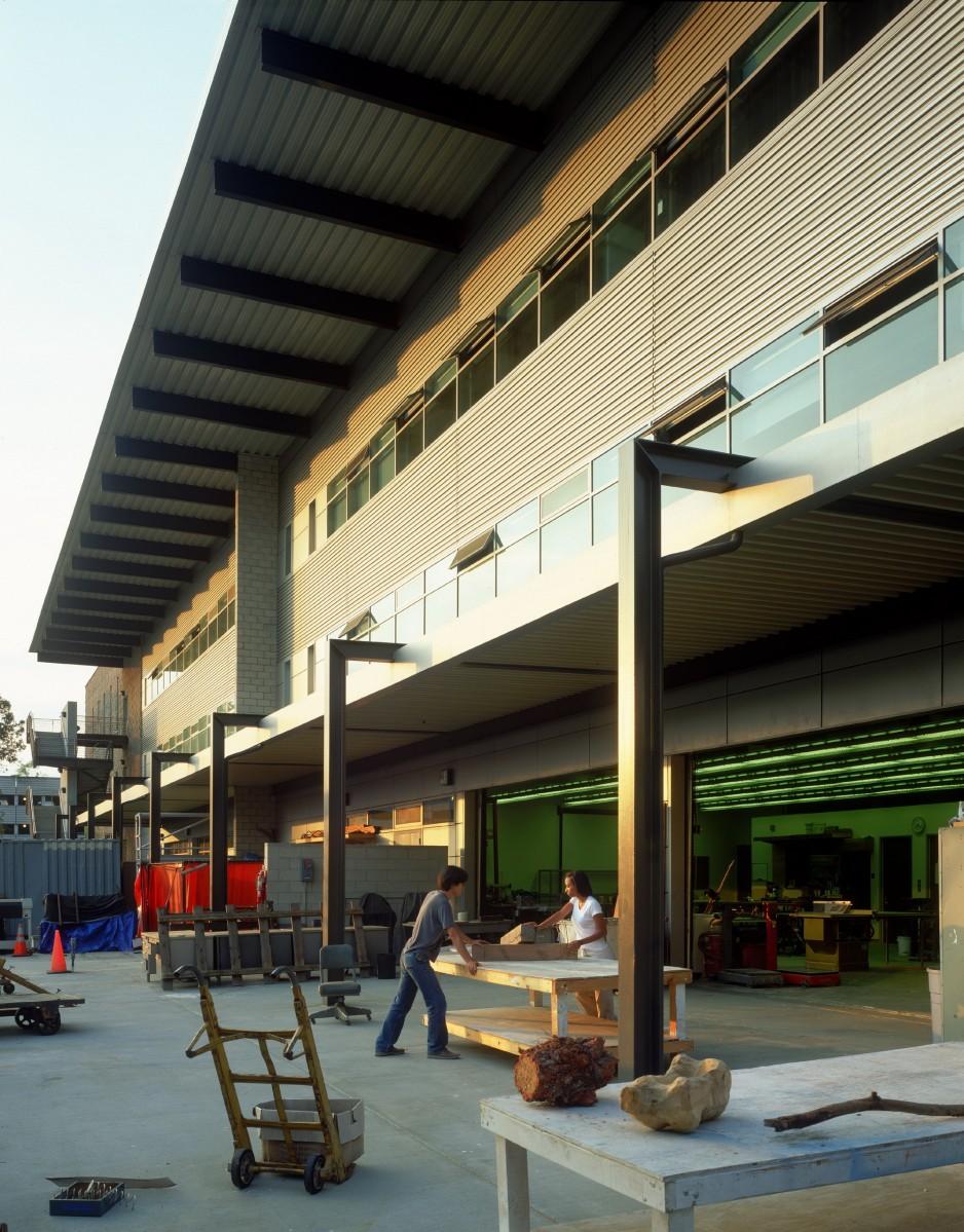 Ucla Kinross Staging Building