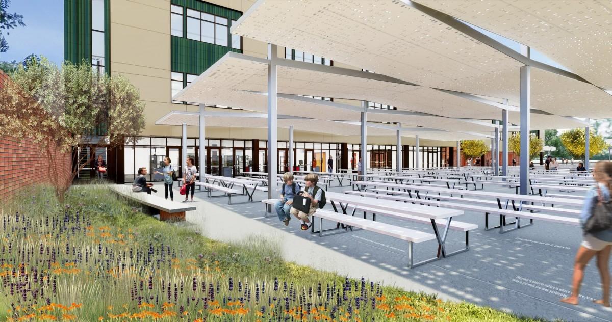 Lausd John Burroughs Middle School Campus Modernization