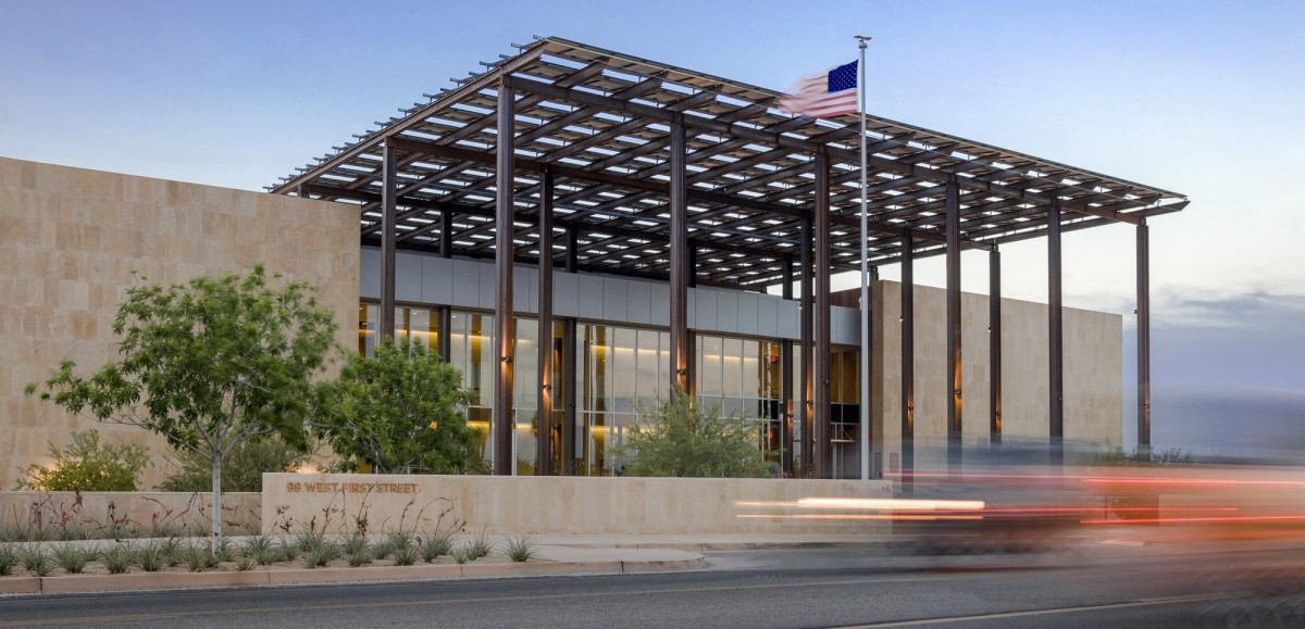 John M. Roll Courthouse Wins Aiacc Design Award