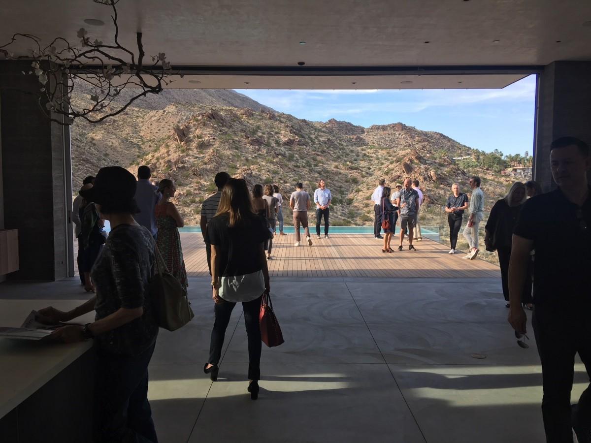 Ridge Mountain Residence Debuts At Modernism Week