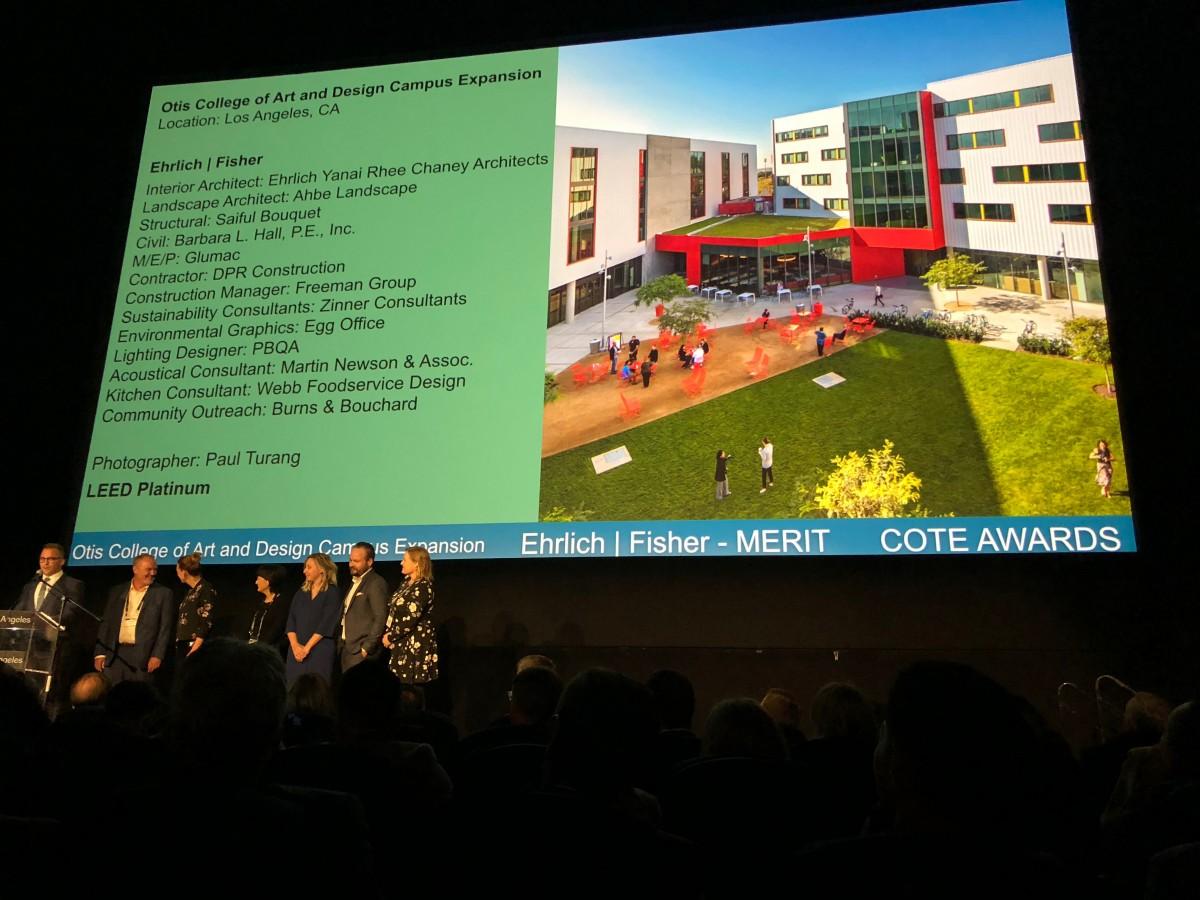 Otis And Stoneview Receive Aia La Design Awards