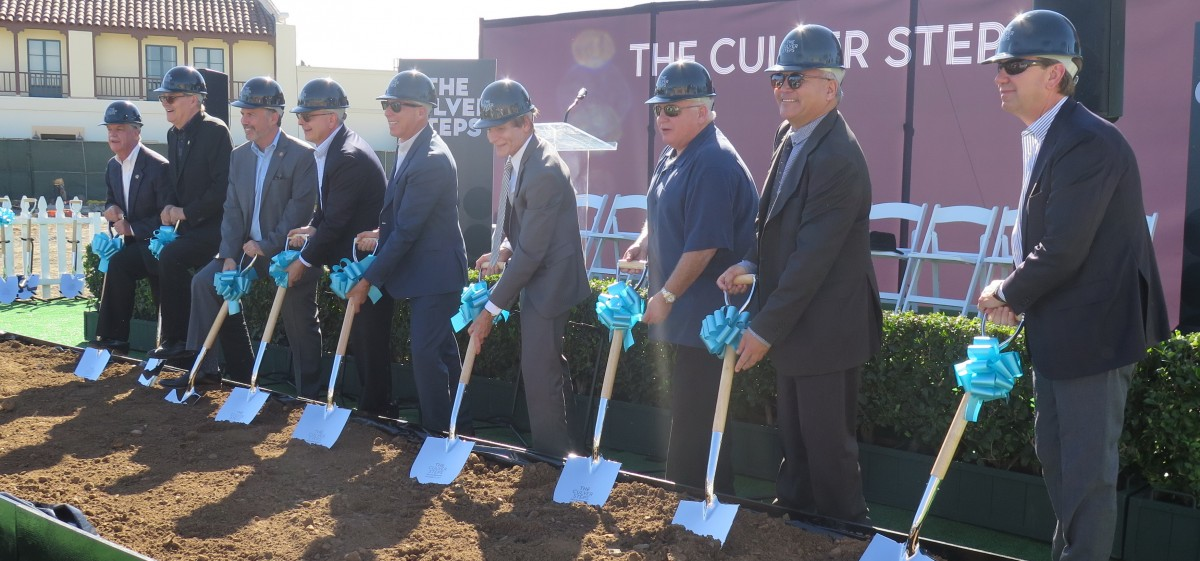 EYRC CELEBRATES THE CULVER STEPS GROUND BREAKING