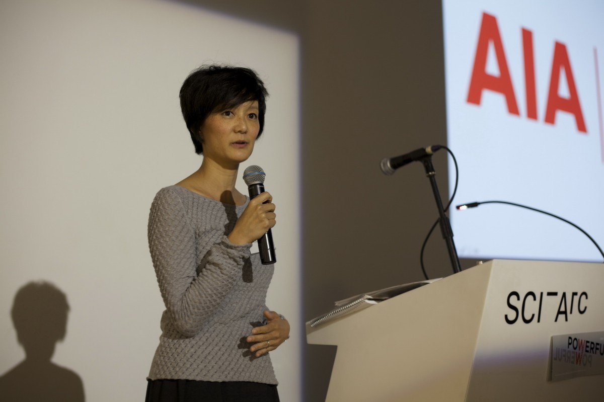 Patricia Rhee Speaks At Aia|la Powerful Event